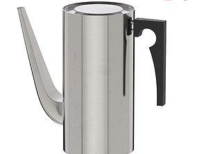 Arne Jacobsen Coffee Pot 3D