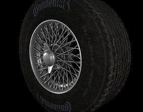 Aston Martin DB-5 Wheel 3D model