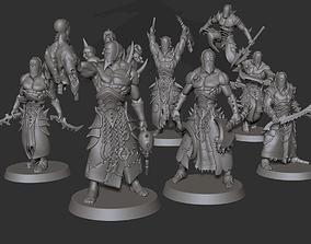 3D printable model Warrior Squad - Cursed Elves