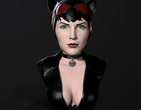 Bust - Catwoman 3D printable model