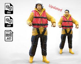 3D printable model N1 Royal National Lifeboat 3