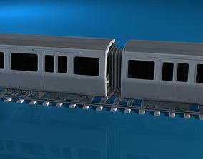 3D Subway train 2