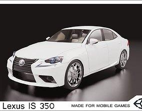 2016 Lexus IS 350 3D asset