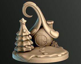 Christmas Snow House 3D print model