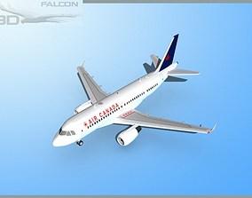 rigged Falcon3D A319 Air Canada 2