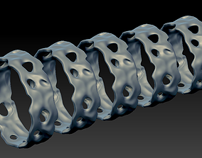 3D print model Ring Stone that have natural holes