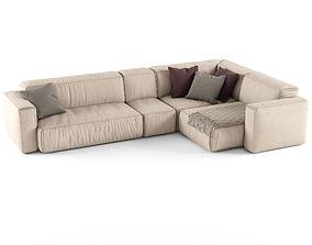 Koo International SOFT Sofa 3 3D model