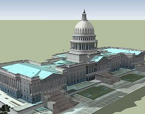 Capitol Hill The Capitol Building 3D