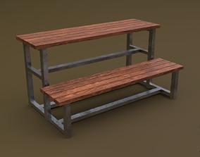 Tribune 03 R 3D model