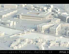 Staines upon Thames Surrey UK 3D model