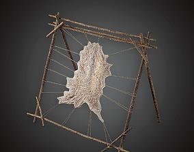 3D asset Leatherworking Rack - MVL - PBR Game Ready