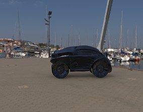 Future Bike Sc-Fi 3D