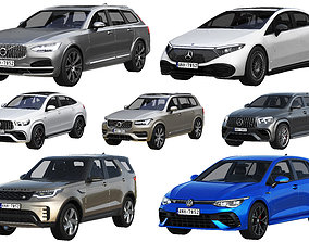 3D model HQ cars collection 7