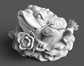 Golden frog model