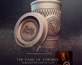 Targaryen Coffee Cup Game of Thrones 3D print model