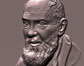 Padre pio da Pietrelcina santo 3D print model