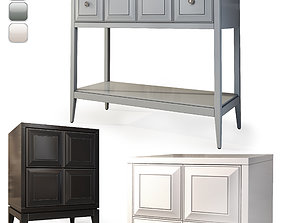 3D model Console nightstand Austin by Dantone