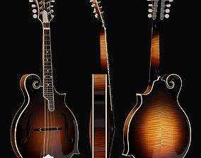 3D asset Gibson F5G Mandolin realtime