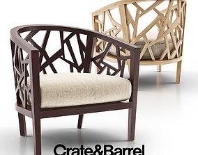 3D model Ankara Truffle Frame Chair