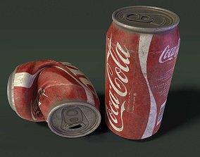 Coca Cola Can 3D asset VR / AR ready