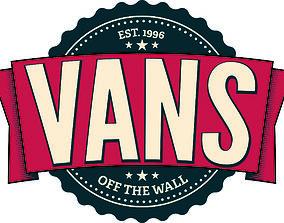 3D printable model Vans Logo