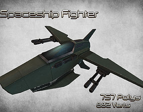 Space Fighter 01 3D model