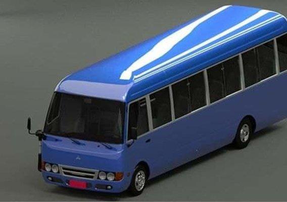 Mitsubishi Rosa 3d model