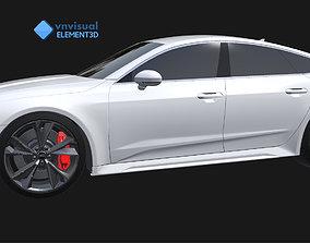 E3D - 2020 Audi RS7 Sportback