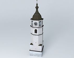 Historical Clock Tower 3D model