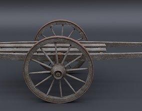 3D model Japanese Cart