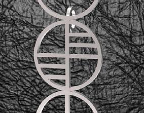 3D print model Bauhaus Pendant
