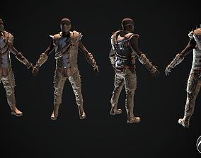 3D model Skull armor 17