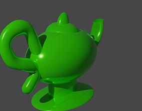 3D model aladdin Magical lamp