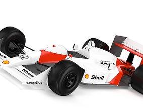 3D model F1 Mclaren MP4 1988