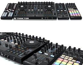 DJ System Native instruments Traktor Kontrol s4 x1 z1 3D 1