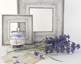 3D Lavender set