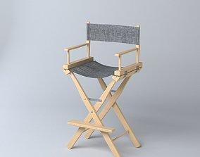 director chair M01 3D model