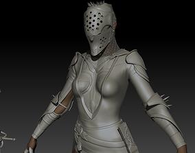 3D model DarkLady Zbrush project