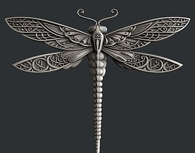 3d STL models for CNC router and 3d printer dragonfly