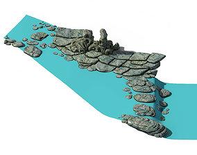The coast of Taihu Lake - Rock 02 3D