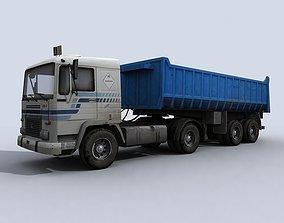 Dump Truck 3D asset realtime