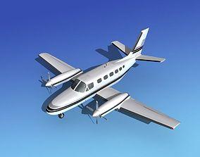 Cessna 441 Conquest II V12 3D model