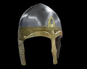 Viking Helmet Spangenhelm 3D asset
