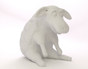 Easter Sheep 3D print model
