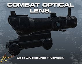 3D asset game-ready Combat Optical Lens