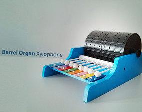 3D print model Barrel Organ Xylophone