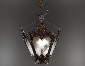 3D Baroque lantern - chandelier