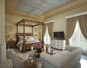 Colonial Bedroom 3D