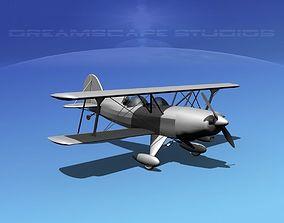 3D model Acro Sport II Biplane VBM