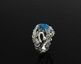 SWAN RING 3D print model